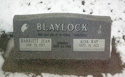 Harriett Jean <I>Thomas</I> Blaylock