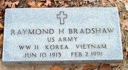 Raymond Ray H. Bradshaw