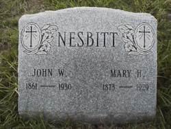 Mary <I>Hoverman</I> Nesbitt
