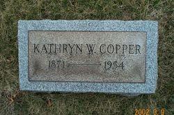 Kathryn W Copper