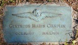 Gertrude Marie Chaplin