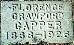 Florence <I>Crawford</I> Capper