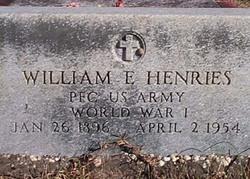 William Ervin Henries