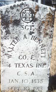 Sgt Walter A. Bennett