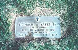 Donald Andrew Yates, Sr
