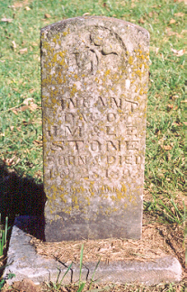 Infant Daughter Stone