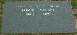 Tomiko Sasaki