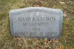Juanita <I>Lalikos</I> McGlumphy