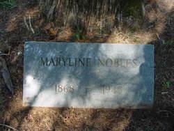 Maryline <I>Wiles</I> Nobles