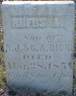 Rufus A. Dick