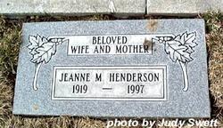 Jeanne Marie <I>Haguey</I> Henderson