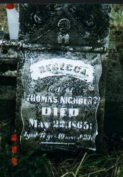 Rebecca <I>Crandall</I> Nighbert