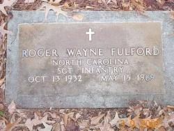 Sgt Roger Wayne Fulford
