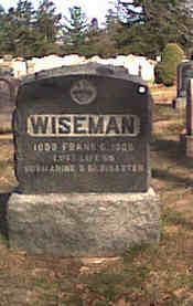 Frank Torpedoman 3/C Wiseman