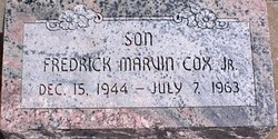 Marvin Frederick Cox