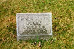 Minnie E <I>O'Brien</I> Lyth