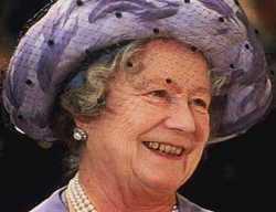 """Elizabeth Angela Marguerite """"Queen Mother"""" <I>Bowes-Lyon</I> Windsor"""
