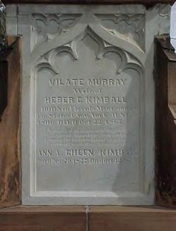 Vilate <I>Murray</I> Kimball