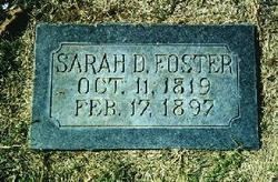 Sarah <I>Downing</I> Foster