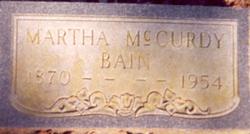 Martha Vianna <I>McCurdy</I> Bain