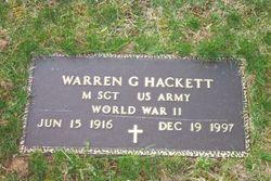 Warren G. Hackett