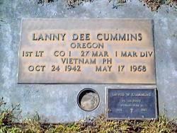 1LT Lanny Dee Cummins