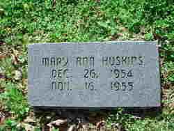 Mary Ann Huskins