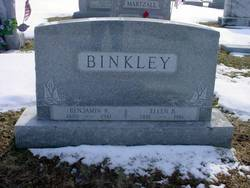 Ellen B <I>Showalter</I> Binkley