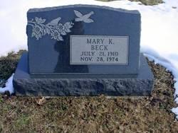Mary K Beck