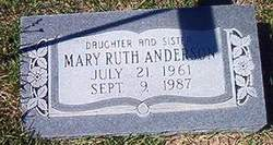 Mary Ruth Anderson