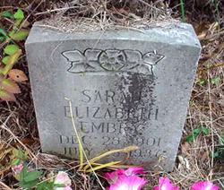 Sarah Elizabeth Embry