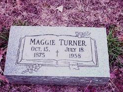 Maggie <I>Jones</I> Turner