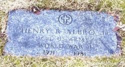 Henry R. Albro, Jr