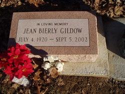 Hazel Jean <I>Bierly</I> Gildow