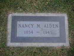 Nancy Melvina <I>Gordy</I> Alden