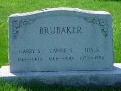 Carrie S <I>Regar</I> Brubaker