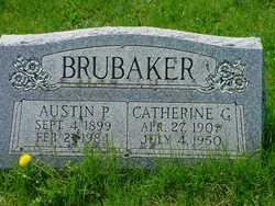 Catherine C <I>Ritter</I> Brubaker
