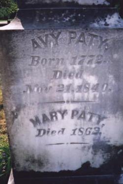 """Averilla Ann """"Avy"""" <I>Parrott</I> Paty"""