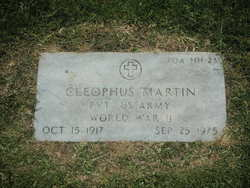 Cleophus F Martin