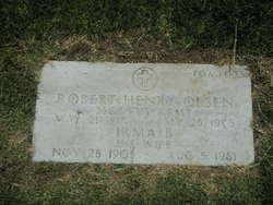Irma Belle <I>Sanders</I> Olsen