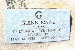 Lieut Glenn Payne