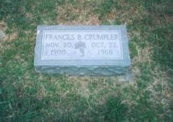 Frances Eunice <I>Beale</I> Crumpler