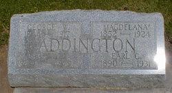 "Magdelana ""Lena"" <I>Gettle</I> Addington"