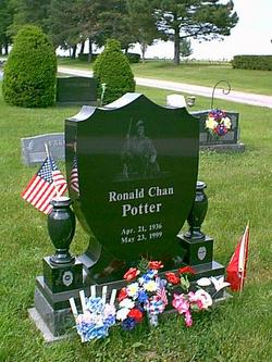 Maj Ronald Chan Potter
