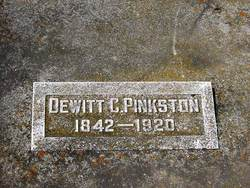 Dewitt Clinton Pinkston