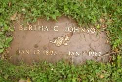Bertha C Johnson
