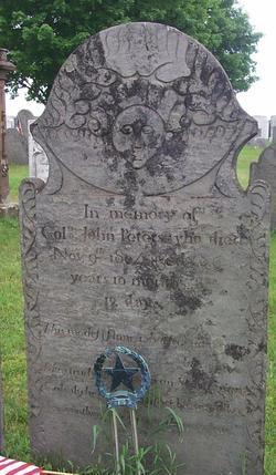 Col John Peters Jr.