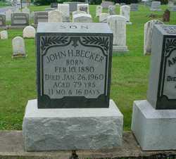 John H Becker