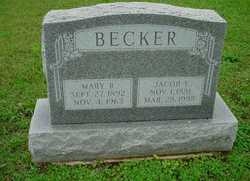 Mary R <I>Peters</I> Becker