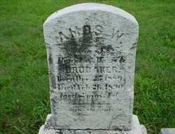Amos W Brubaker